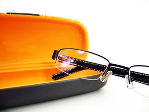 products glasses with case