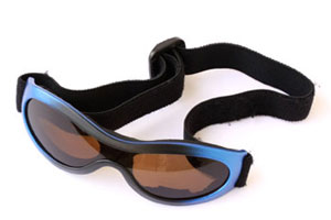 sports goggles and protective eyewear